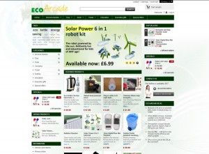ECO Arcade solar and eco-friendly products and gifts