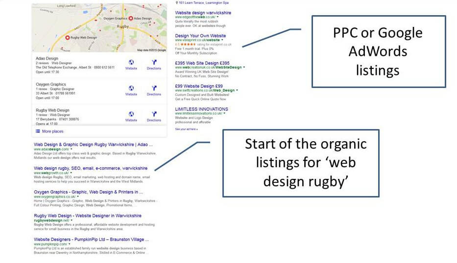 paid-vs-organic-web-design-rugby-opt