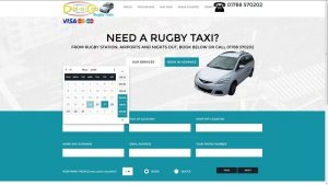 Rugby taxi booking form