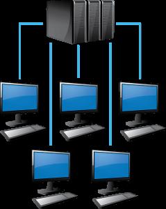 web server computer network