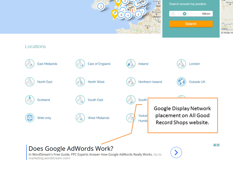 Google Display Network placemnt