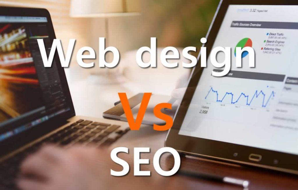 Web design versus SEO