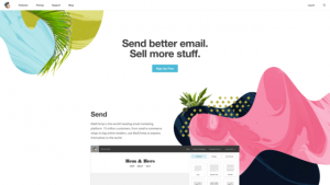 Mail Chimp emailmarketing services