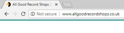 SSL not-secure chrome message