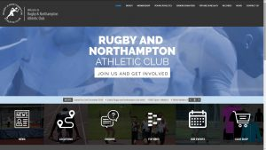 Web design - Rugby and Northampton Athletic Club