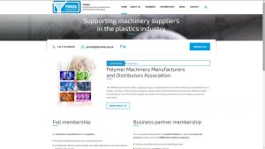 PMMDA website home page design